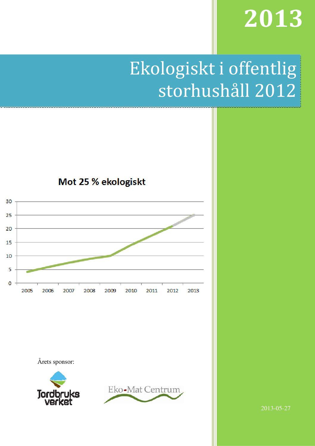 Rapport 2013 (2012)