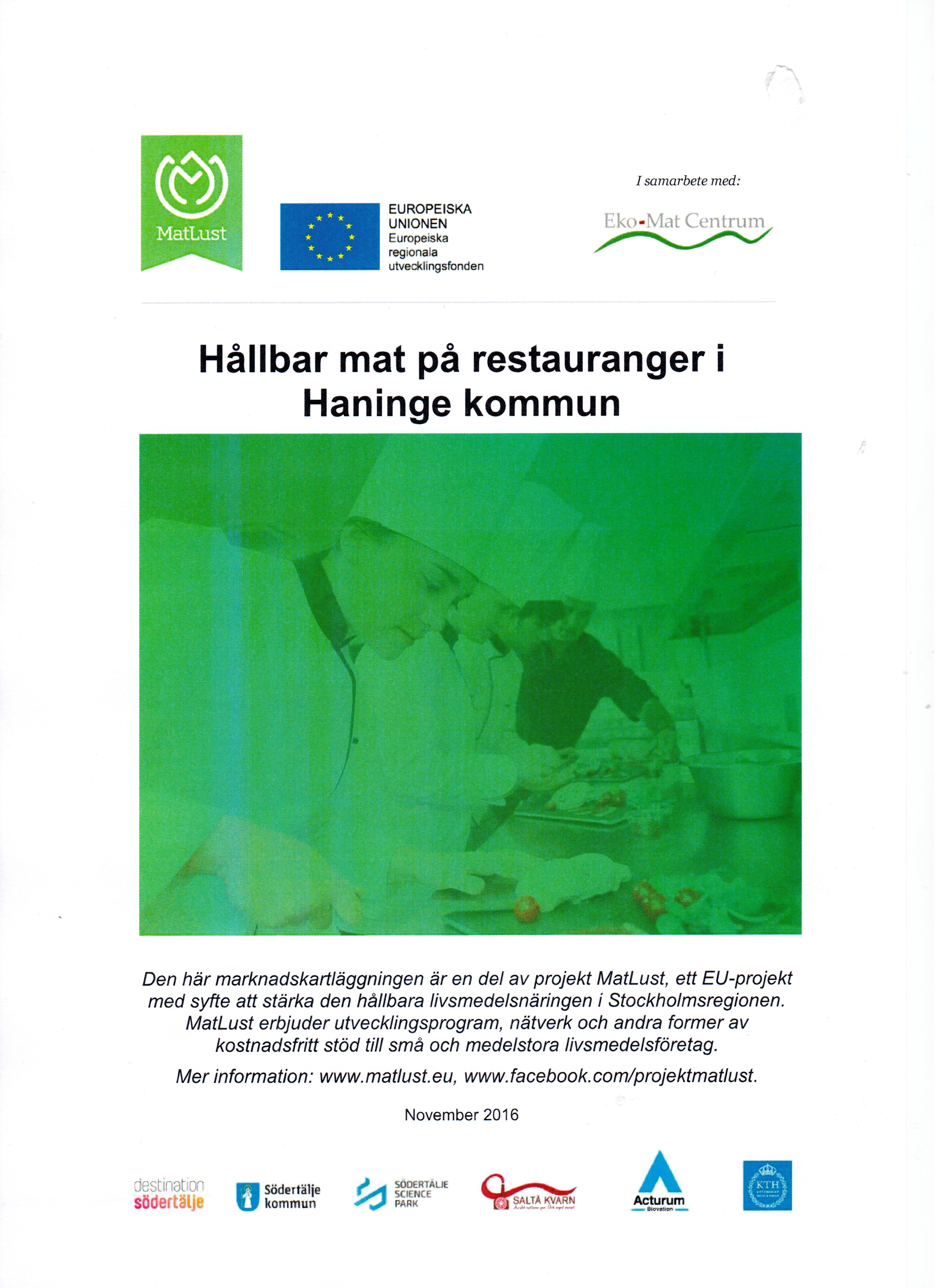 Rapport restauranger